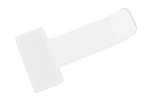 P-biljetthållare glasklar