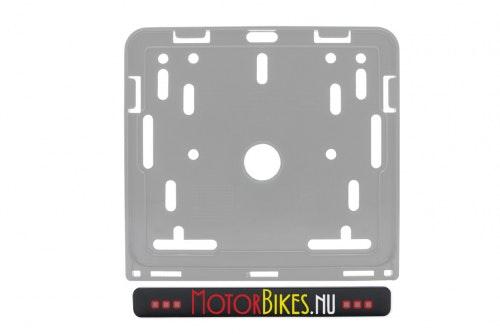 Ad strip motorbike with print