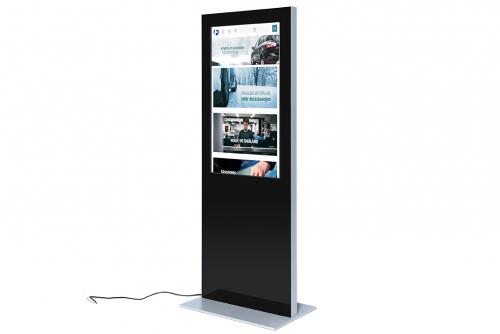 Digitalt informasjonsskilt, Touch-skjerm