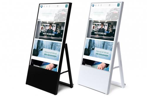 Digital informationsskylt, A-Board