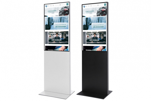 Digitalt informasjonsdisplay Smart Line