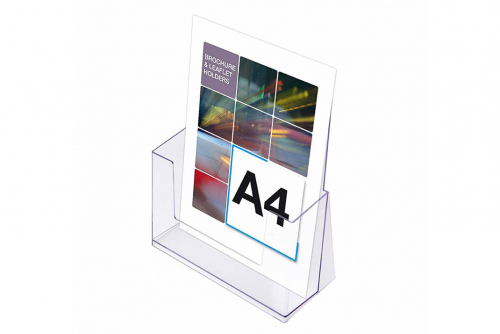 Broschyrhållare A4