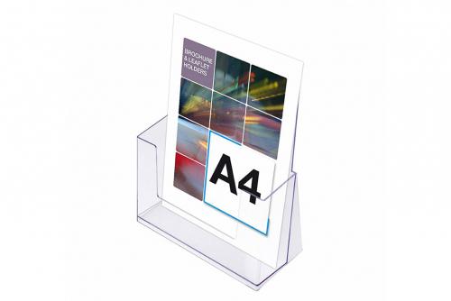 Brosjyreholder A4