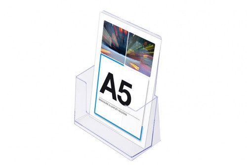 Leaflet holder A5
