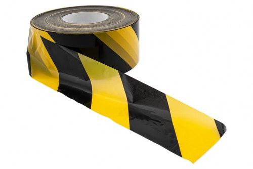 Sperrebånd, sort/gul