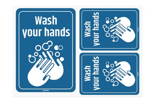 Wash your hands - decals