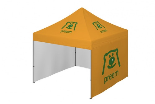 Event tent 3x3 meter with digital print
