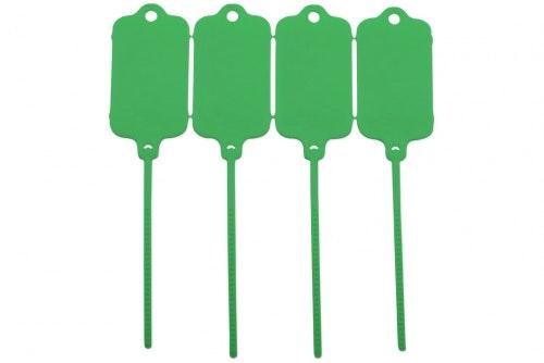 Keytag uten trykk, grønn