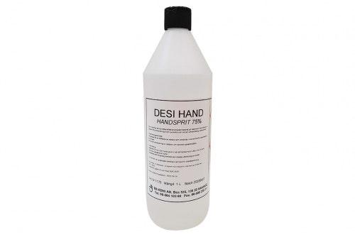 Håndsprit 75% 1-liter, 6-kartong