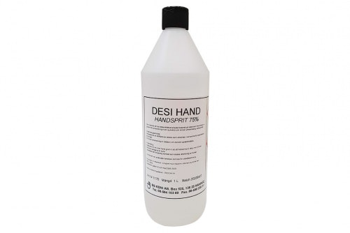 Handsprit 75% 1-liter, 6-pack