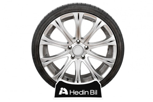 Display rack tire with print