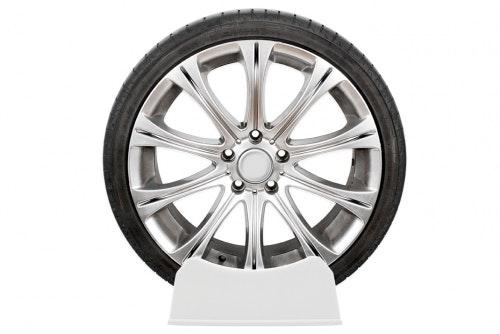 Display rack tire, no print