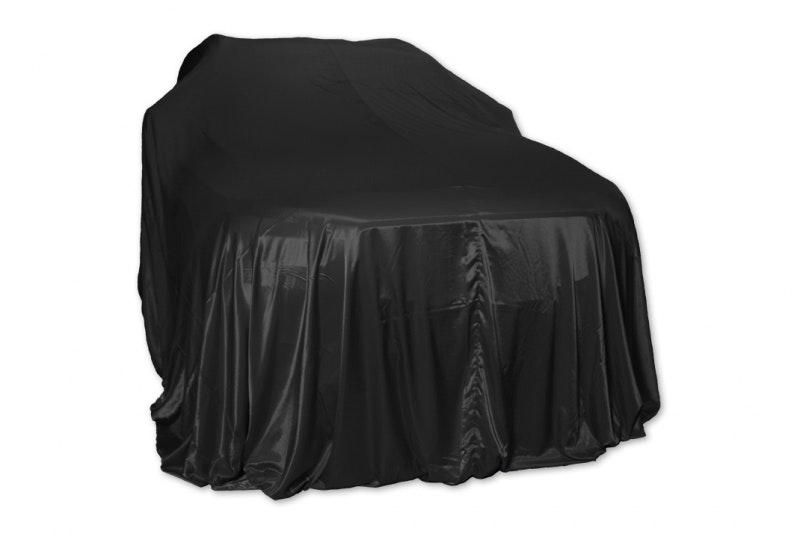Avtäckningstäcke SUV - svart