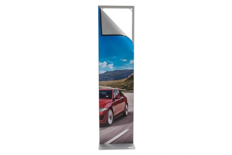 Posterdisplay med magnetram 1,6 m
