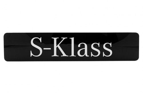 Infoskylt glasklar akryl, digitaltryck