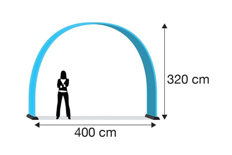 Eventbåge medium, enkelsidigt tryck