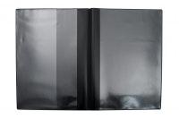 Fordonsmapp i svart plast, A5 utan tryck