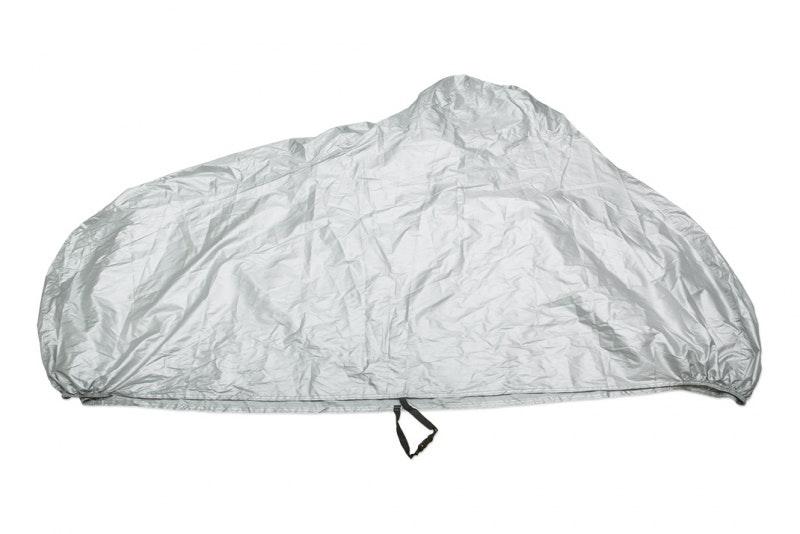 MC-överdrag i nylon, grå