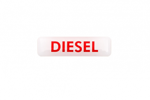 "3D-merkkilogo ""Diesel"""