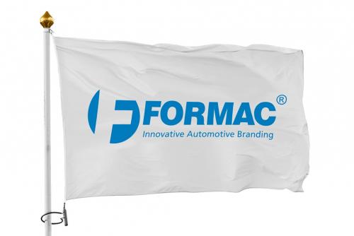 Lippu asiakkaalle räätälöidyllä, 1-värisellä painatuksella