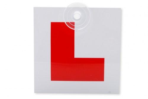 L-merke Øvelseskjørningsskilt, Sugepropp