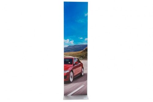 Plakatsøyle med magnetramme 1,6 m