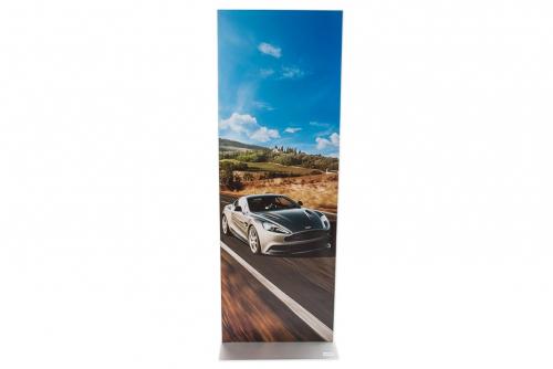 Plakatsøyle med magnetramme 1,8 m
