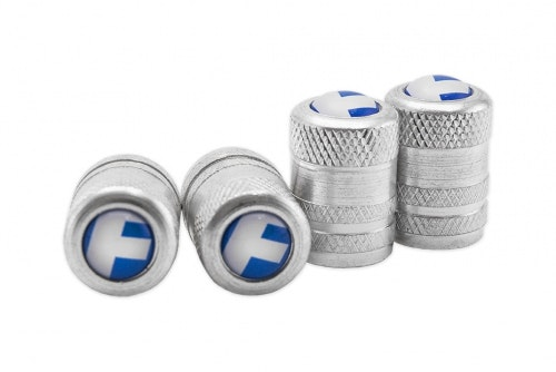 Ventilhatt i aluminium med domemerke