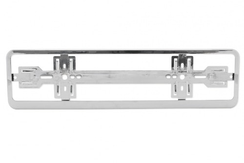 Plate holder chrome