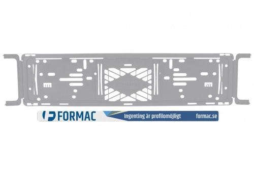 Ad strip with digital print