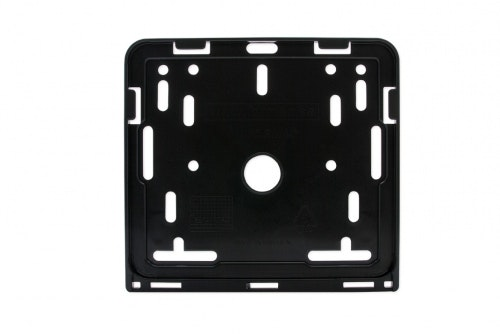 Plate holder motorbike with hole pattern