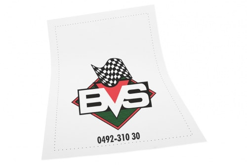 Mat protection with customized 3-color print