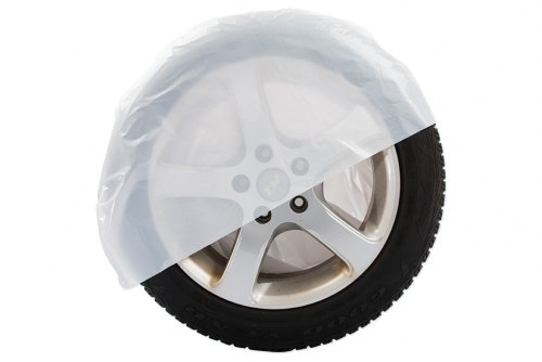 Tire bag large white, without print
