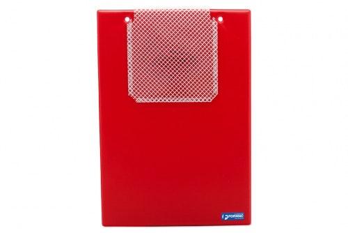 Work order folder red
