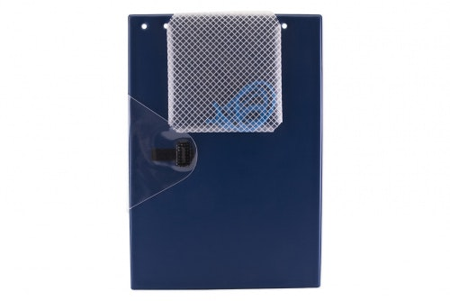 Work order folder large blue