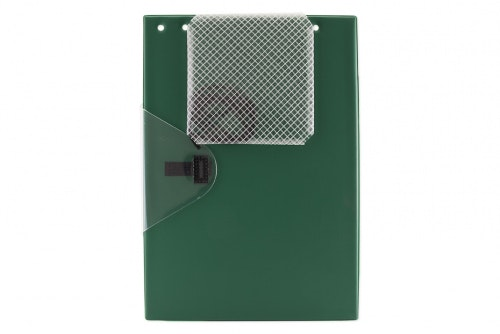 Work order folder large green
