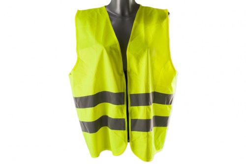 Hi-vis vest without print