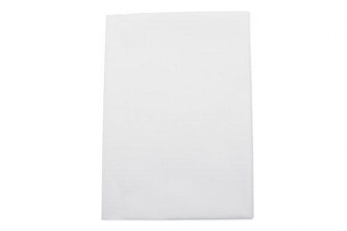 Vehicle folder in white plastic, A5 without print