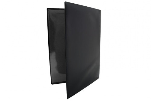 Vehicle folder in black plastic