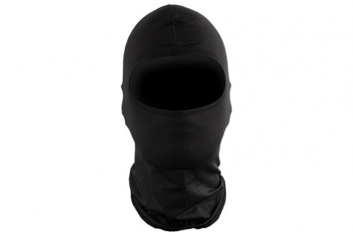 Motorbike inner cap / balaclava - black