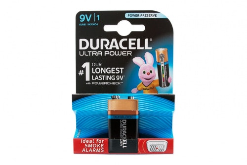 Battery Duracell Ultra Power 9V