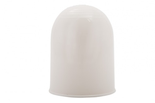 Tow ball cover white, without print