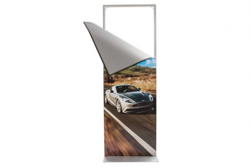 Poster Display with magnetic frame 1,8 m