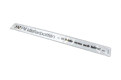 Reflex wrap white with digital print